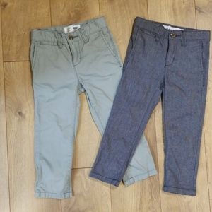 Two Pair Old Navy Toddler Skinny Pants